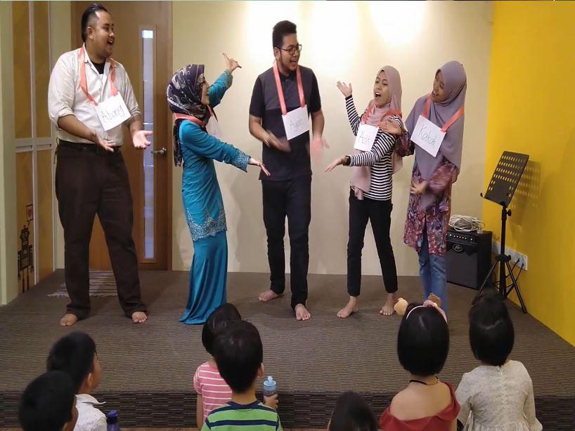 Keluarga Bahagia (Bahasa Malaysia Class)